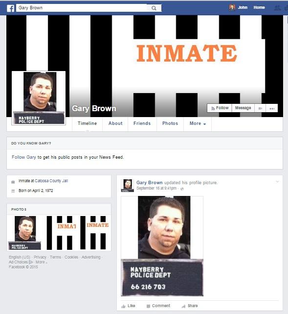 Gary Brown Facebook